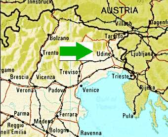 Where Is UdineMore Detail - Udine map